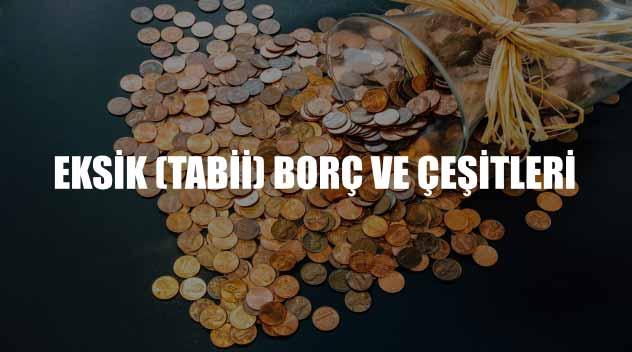 eksik-borç